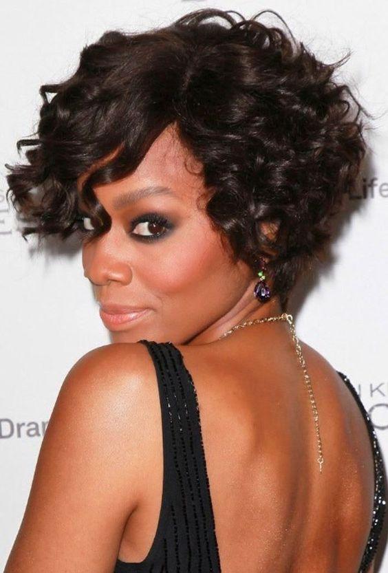 Fantastic Short Curly Hairstyles African American Women And Hairstyles For Hairstyles For Women Draintrainus