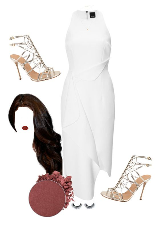 """""""Foto en grupo"""" by dani-93 ❤ liked on Polyvore featuring Josh Goot, Lime Crime, Anastasia Beverly Hills, Sergio Rossi, Melissa Joy Manning, viaje and DGisel"""