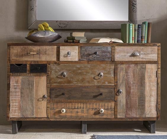 unikat sideboard vintage style m bel pinterest goa. Black Bedroom Furniture Sets. Home Design Ideas