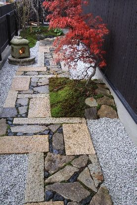 Pathway, landscape design: