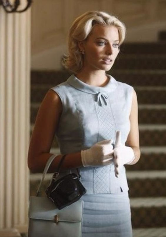 Margot Robbie, The True Classic, on Set and in Character for ABC