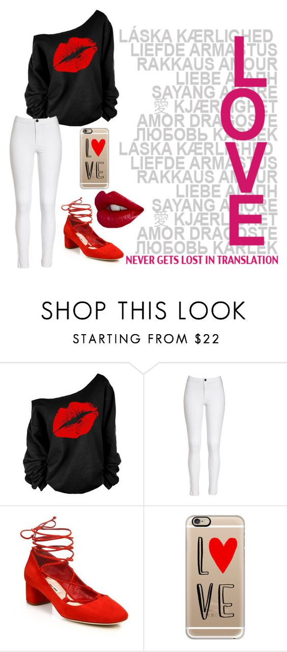 """""""Happy valentines day!"""" by jessiesaul ❤ liked on Polyvore featuring Miu Miu and Casetify"""