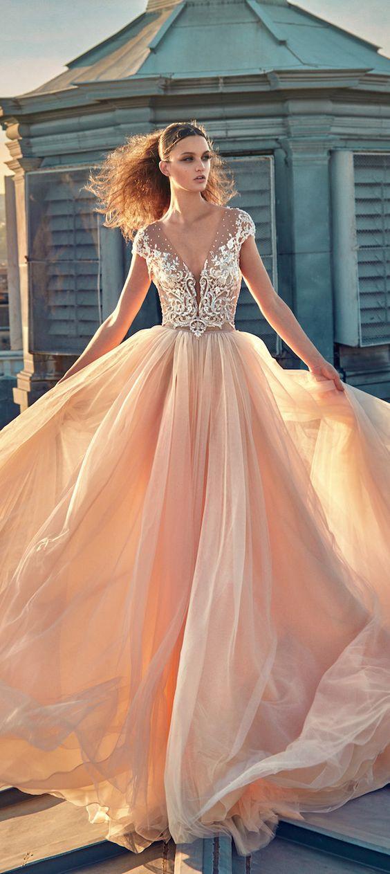 Galia Lahav Fall 2016 Gala Ready To Wear Collection Totally getting princess vibes