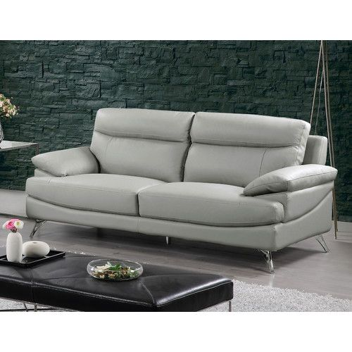 Found it at Wayfair - Leather Sofa