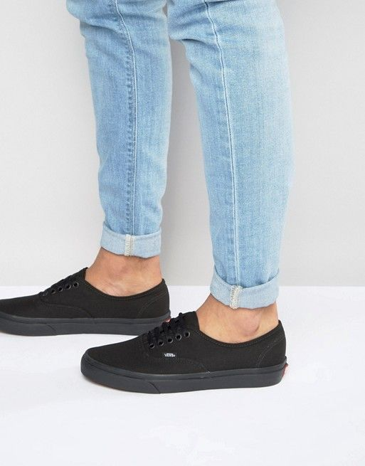 vans authentic homme noir