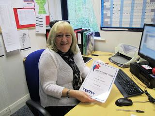 Meet Christine our fundraising volunteer at our head office in Cheadle. http://www.togethertrust.org.uk/fundraising
