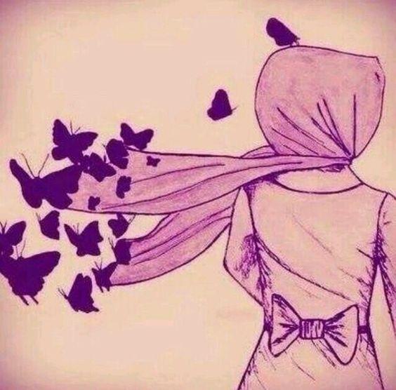 Pretty hijabi anime ♡:
