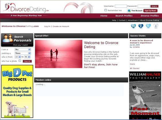 divorce dating