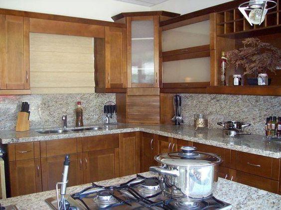 Cocinas pequeñas rusticas modernas   buscar con google ...