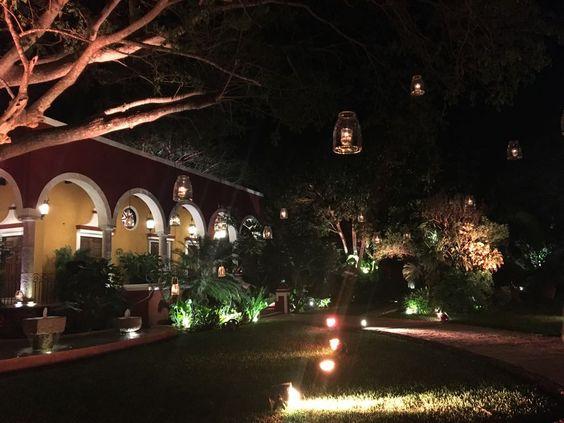Lovely wedding hacienda