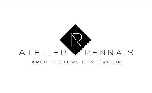 Atelier Rennais Architecture Interior Design Logo Branding Vivien Bertin 4