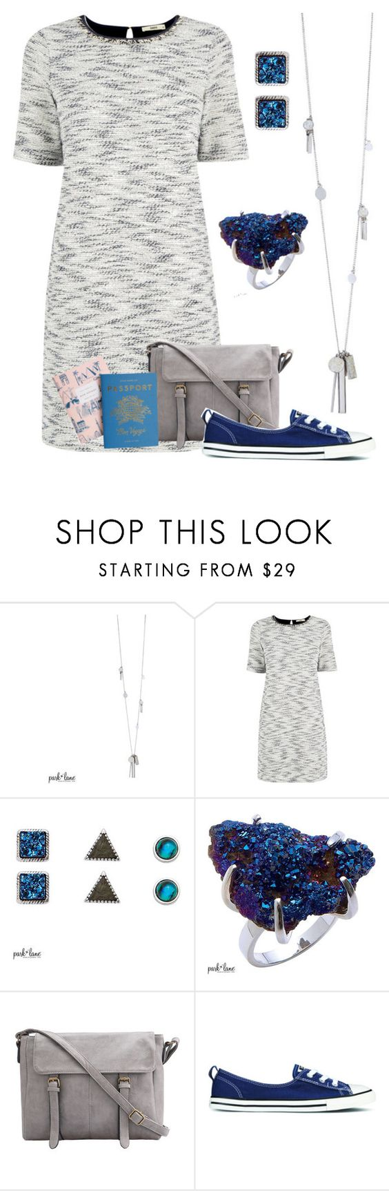 """""""My Park Lane Style"""" by parklanejewelry ❤ liked on Polyvore featuring Oasis and Converse"""