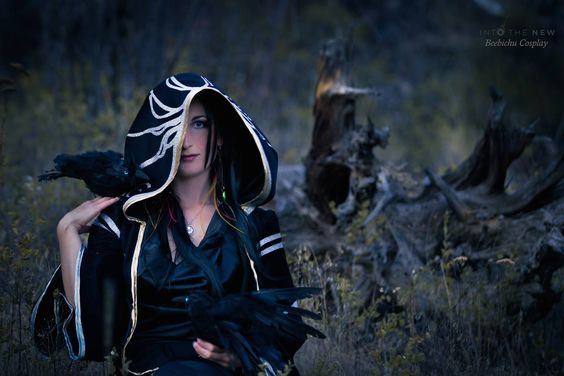 Beebichu's Costume Creations: How to Make Skyrim Cosplay: Nocturnal's Robes