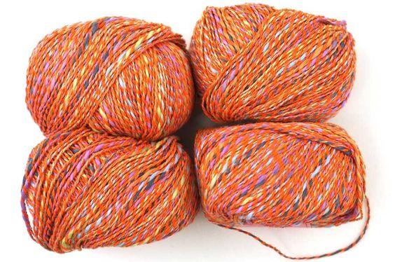 Noema color #16, Garland - cotton blend yarn