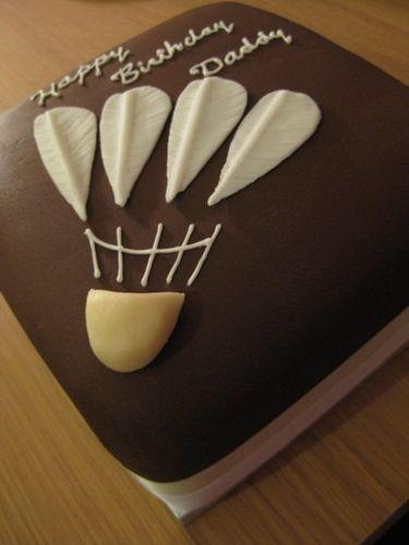Birthday Cake Badminton Design