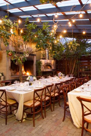 Italian Bistro String Lights. Wine Country Collection by Got Light. Stable Cafe, San Francisco.