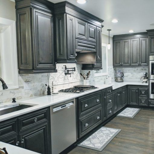Cabinets To Go Customer Remodels Gallery Paul Jenks Kensington Mist Cabinets To Go Kitchen Remodel Kitchen Redo