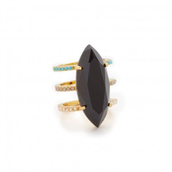 21 Pieces of Trendy Statement Jewelry Under $100 via Brit + Co