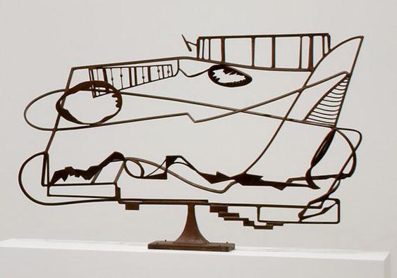 David Smith - Hudson River Landscape, 1951  Welded steel  Whitney Museum of American Art, New York