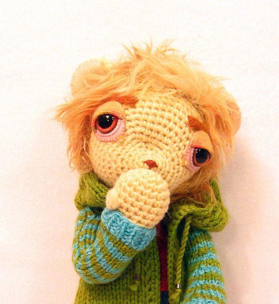 Lion - Elisabeth Doherty: Amigurumis Cuties,  Teddy Bear, Crochet Bebe, Crochet Amigurumi, Amigurumi Dolls, Crafty Ideas