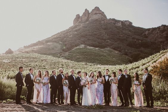 Saddlerock Ranch Wedding featuring PPS Couture.