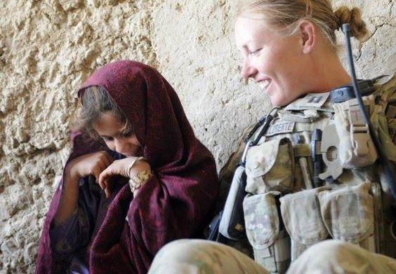 Afghan and American