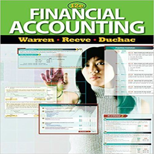 Financial accounting 13e answers warren reeve duchac ebook best deal test bank for financial accounting 12th edition by warren reeve and test bank for financial accounting fandeluxe Image collections