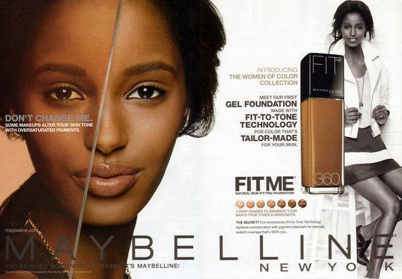advertisement #maybelline #cosmetics #senait #gidey #york ...