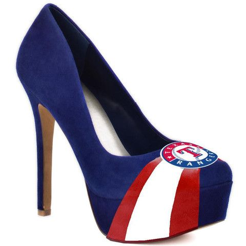 Texas Rangers HIgh Heels Repin for a chance to win a free pair of your teams pumps. Its Giveaway Wednesday