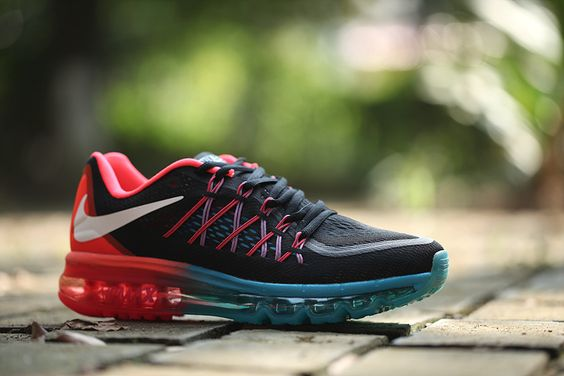 Nike Air Max 2015 black blue red: