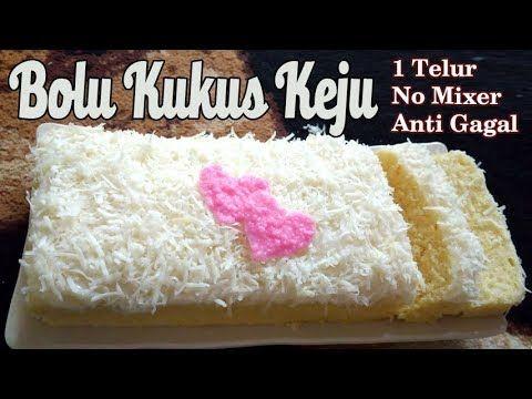 Resep Bolu Kukus Keju Super Lembut Satu Telur No Mixer Youtube Bolu Mixer Cake