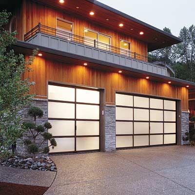 All about garage doors garage doors garage lighting and for Translucent garage doors