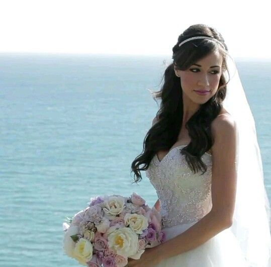 Colleen Ballinger Wedding Hair