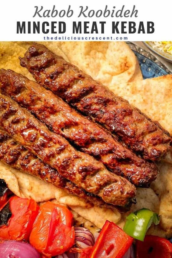 Koobideh Kabob Are The Most Juicy And Amazingly Flavorful Middle Eastern Ground Meat Kebabs Ever This Classic Persi In 2020 Kebab Recipes Koobideh Recipe Lamb Recipes