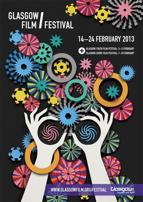 Glasgow Film Festival 2013 - Lesley Barnes Illustration