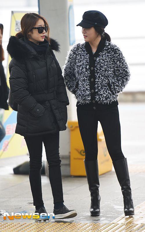티아라 지연.소연 '출국에 앞서 미녀들의 수다'