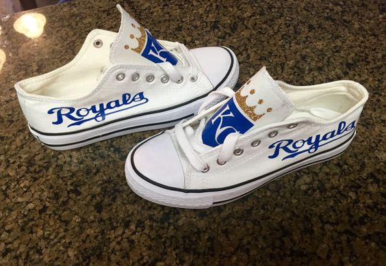 Hey, I found this really awesome Etsy listing at https://www.etsy.com/listing/270588049/kansas-city-royals-or-chiefs-shoes