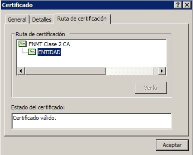 Ver certificado digital