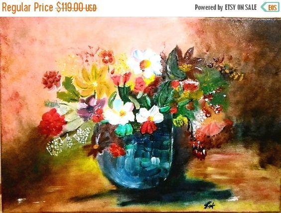 Check out this item in my Etsy shop https://www.etsy.com/listing/244601405/5-original-oil-painting-flowercanvas-art