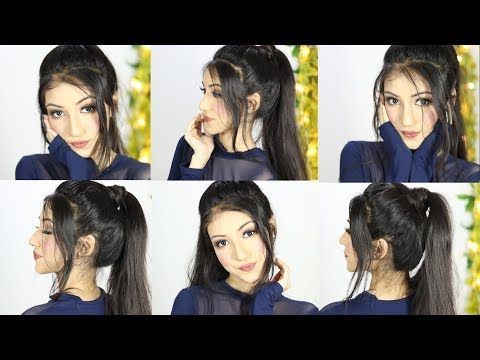 New Easy Ponytail Hairstyle For Party Or Wedding Long Ponytail Hairstyles Youtube Ponytail Hairstyles Easy Long Ponytail Hairstyles Ponytail Hairstyles