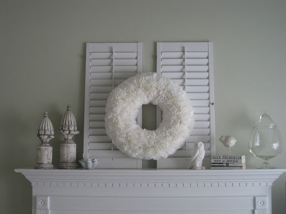@Christine Jock- use your wreath on a decorative shelf when it's not on the door!