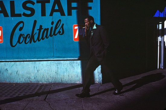 Man With Cigarette, 1974 Greg Girard
