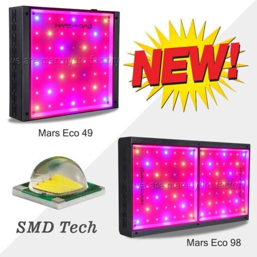 Mars Hydro 600w 1000w Led Grow Light Full Spectrum Ir Indoor Plant For All Stage Ebay Led Grow Lights Grow Lights Grow Light Bulbs