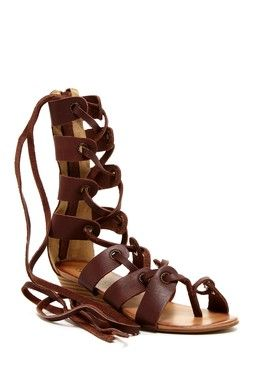 Modern Rebel Saira Laced Gladiator Sandal