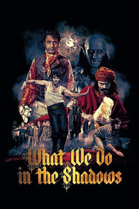 What We Do In the Shadows (2014) movie poster