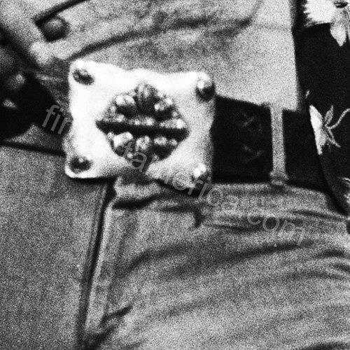Robert Plant's belt buckle!