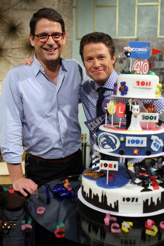 Decades Cake: Billy Bush's 40th Birthday – ENTERTAIN with Mark Addison - via http://bit.ly/epinner