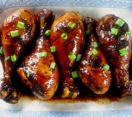 Japanese-Style Chicken Drumsticks~T~ Love these cooked in a sauce of ...