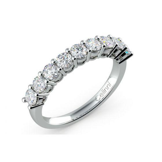 Demi Alliance Diamants Mon Amour Platine 950 1000 En 2020 Avec Images Alliance Diamant Bague Or Blanc