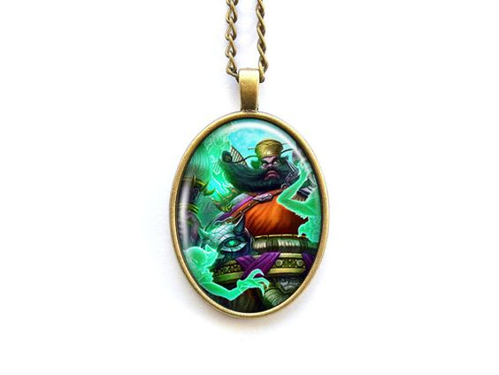 Necklace Smite Chinese god Zhong Qui The Demon by SwedestStore